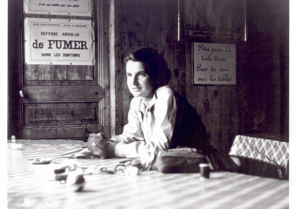 Foto: La cristalógrafa Rosalind Franklin reveló hace 60 años que la estructura del ADN era una doble hélice