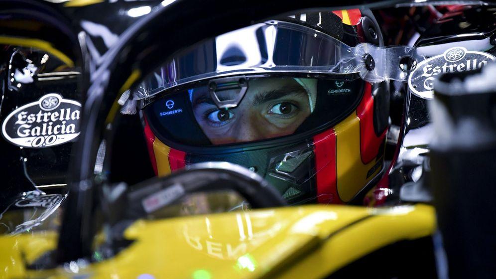 Foto: Carlos Sainz con el objetivo de reencontrarse con su mejor versión (EFE)