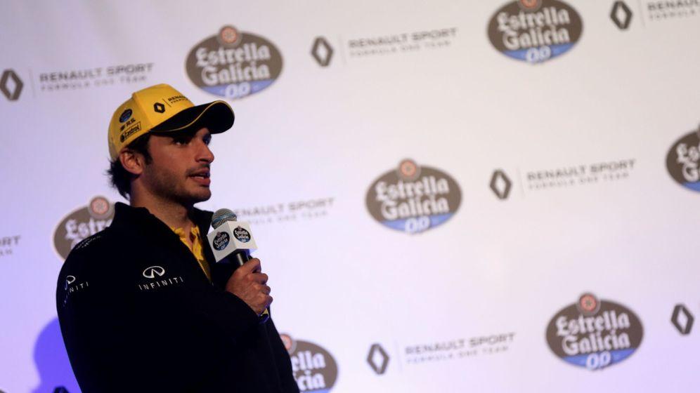Foto: Carlos Sainz será una pieza crucial en las aspiraciones de Renault de llegar al quinto puesto de la general. (EFE)