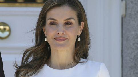 Doña Letizia, 'arreglá pero informal' para almorzar con el presidente de Eslovenia