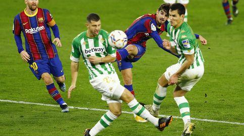 Trincao mantiene al Barça con vida en liga con un gol de infarto en el minuto 87 (2-3)