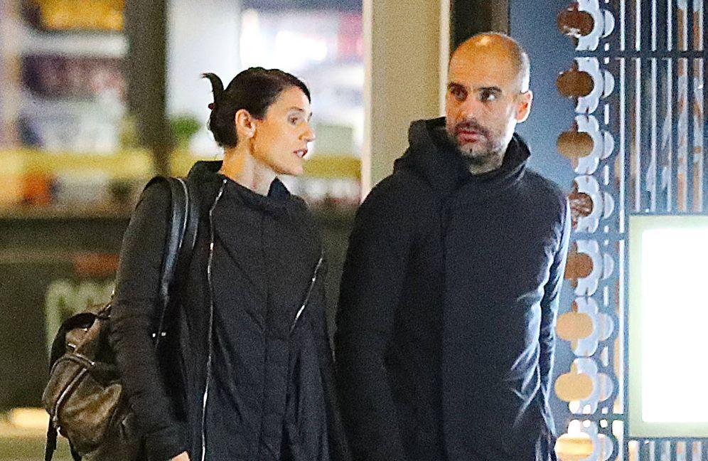 Foto: Pep Guardiola y Cristina Serra. (Gtres)
