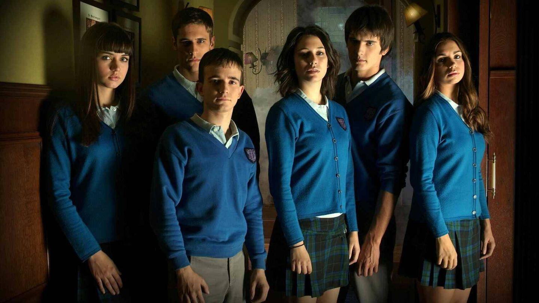 Los protagonistas de 'El internado'. (Atresmedia)