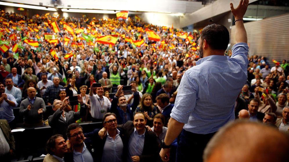 Foto: Santiago Abascal, en Sevilla. (Reuters)