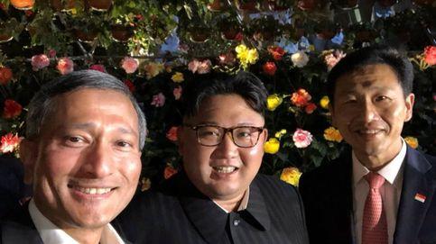 La noche de turismo y selfies de Kim Jong-un en Singapur