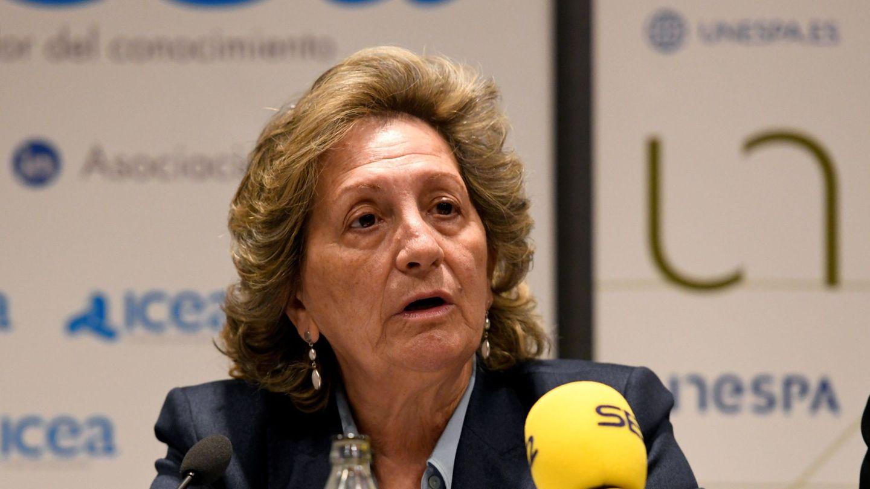 Pilar González de Frutos, presidenta de Unespa. (Efe)