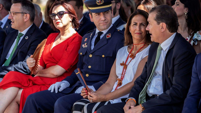 Teodoro García Egea, el verano pasado en la Academia de San Javier. (EFE)