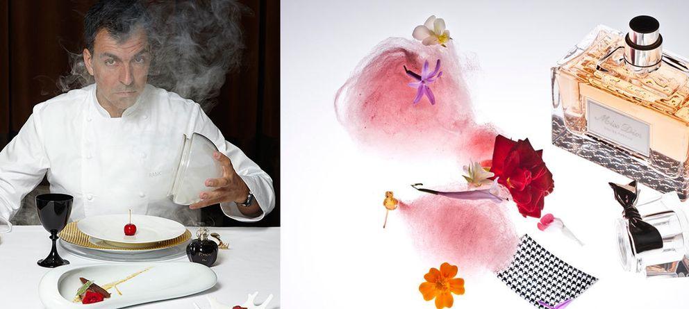 Ocho perfumes inspiran el menú más original del otoño