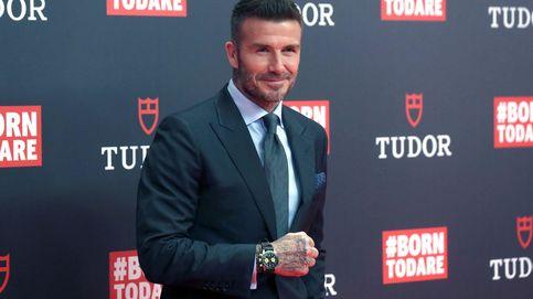 Sir David Beckham renueva sus votos con Madrid en su último acto publicitario