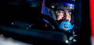 Post de Fernando Alonso, de vuelta al paddock del GP de Italia desde las pistas de Polonia