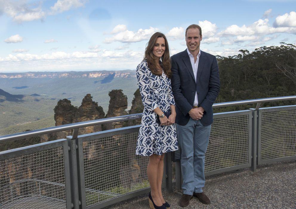 Foto: Los duques de Cambridge en su viaje a Australia (Gtres)