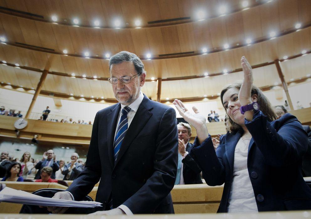 Foto: Mariano Rajoy y Soraya Sáenz de Santamaría (EFE)