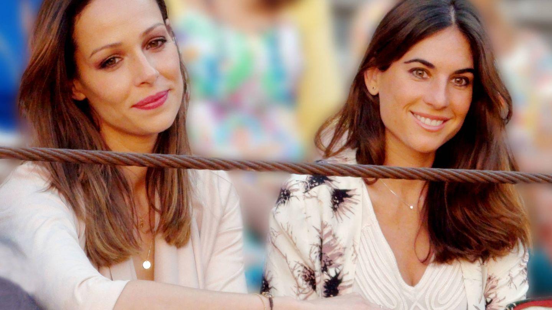Eva González y Lourdes Montes. (Getty)