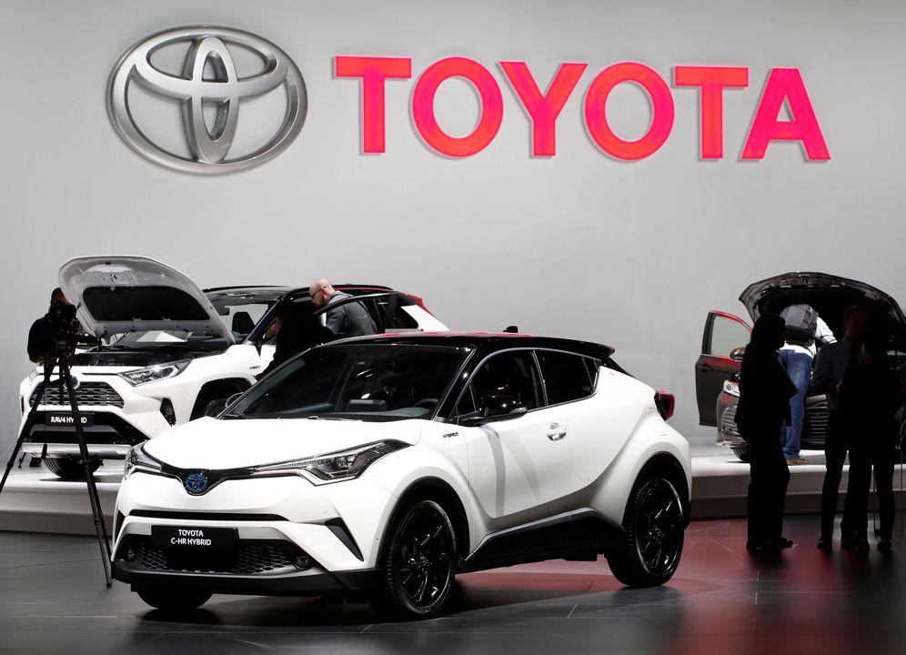 Foto: Un Toyota C-HR Hybrid. (Reuters)