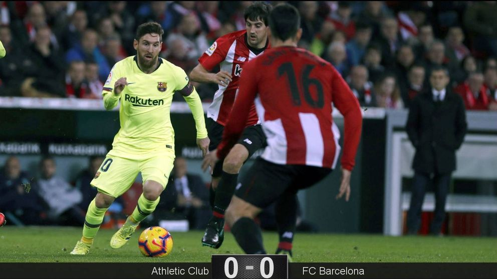 El Barcelona, con Messi a medio gas, le abre la puerta de la Liga al Real Madrid