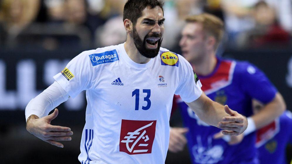 Foto: Nikola Karabatic debutó el jueves en el Mundial de balonmano. (Reuters)