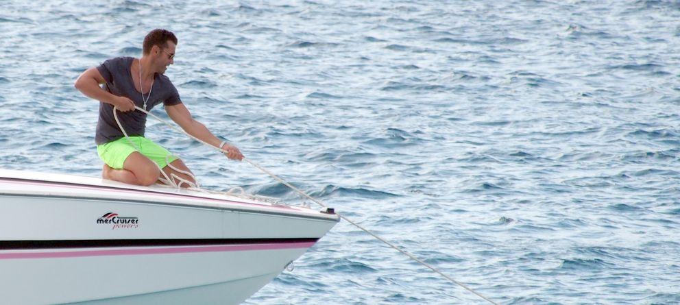 Jesús Vázquez y Roberto Cortés, divertidas vacaciones en Ibiza con amigos