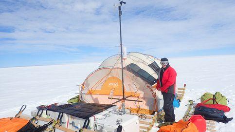 Este explorador polar recorrerá 2.000 km por la Antártida a bordo de su trineo casero