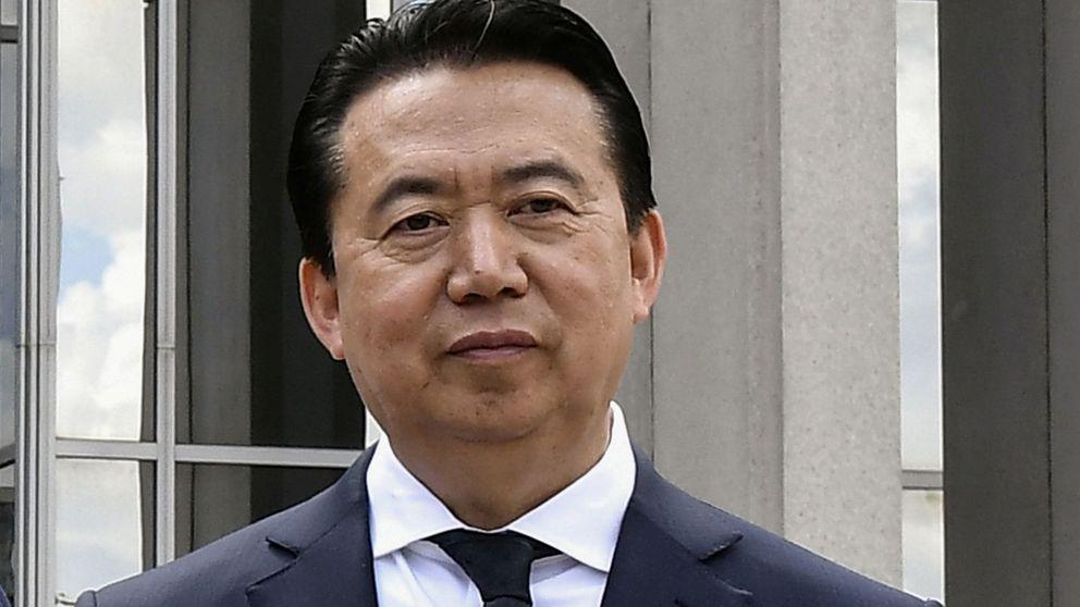 El jefe de la Interpol desaparecido estaría retenido en China