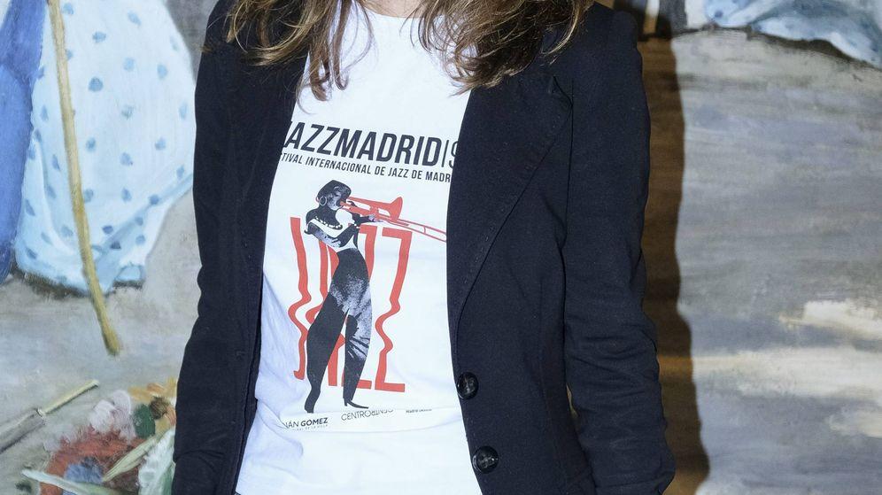 Foto: Andrea Levy, con su camiseta de promoción. (Cordon Press)