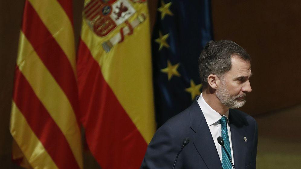 Foto: El Rey duante una visita a Barcelona. (EFE)