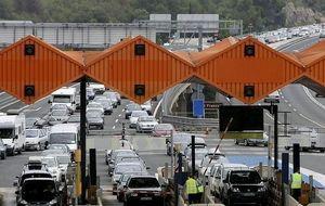 Las autopistas de peaje vuelven a cifras de los 90 con una caída del trafico del 30%