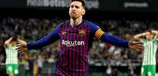 Post de El día que a Messi le aplaude el rival... y a Luis Suárez se le ve su tozudez