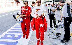 Fernando Alonso echa en falta más competitividad... Pero bueno, esto es lo que hay