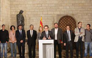 Tensión en el soberanismo catalán: ERC pone a Mas contra las cuerdas