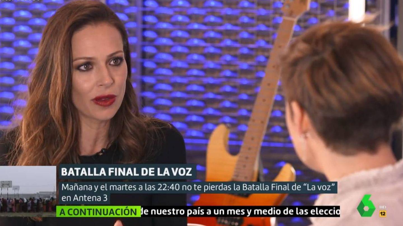 Eva González y Cristina Pardo, en 'Liarla Pardo'. (La Sexta)