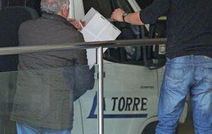 Foto: Carmen Martínez Bordiú inicia la mudanza