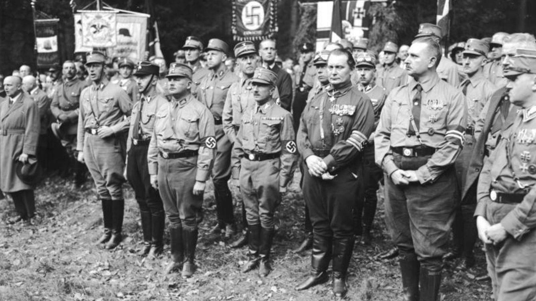 Foto: Miembros del alto mando militar nazi. (Wikipedia)