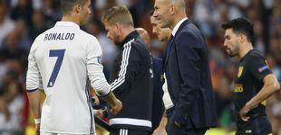 Post de Zidane ante la posibilidad de consagrarse con un solo punto en el orden del día