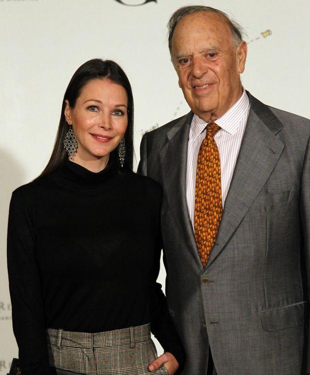 Foto: Carlos Falcó y Esther Doña en una imagen de la fiesta de 'Gentleman'. (Cordon Press)