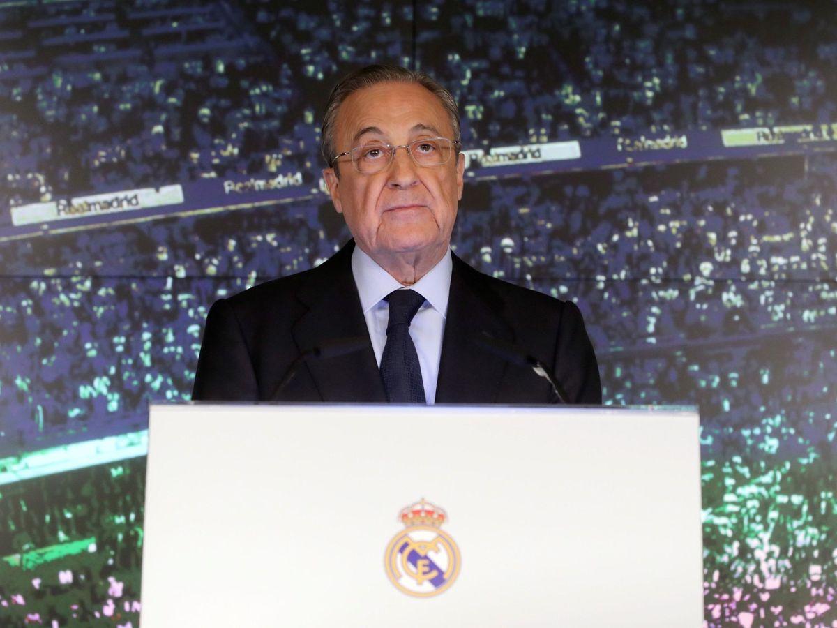 Foto: Florentino Pérez en una imagen de archivo. (Efe)