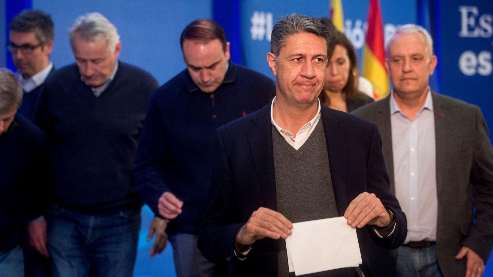Foto: El cabeza de lista del PPC en las elecciones del 21-D, Xavier García Albiol. (EFE)