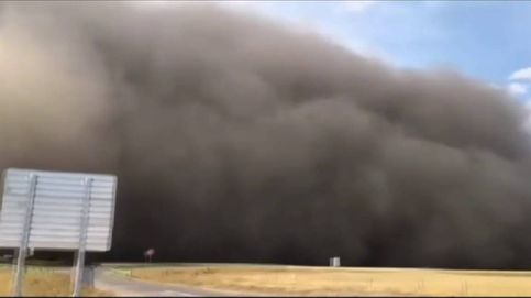Impresionante tormenta de arena invade una ciudad de China