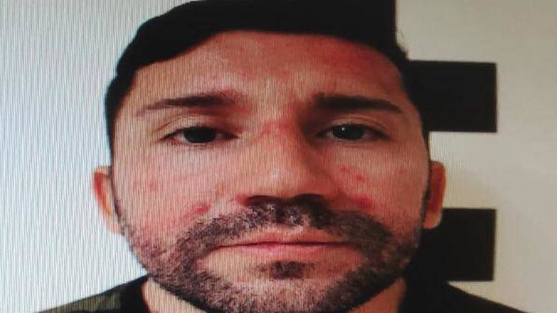 Imagen de la ficha policial de Jorge, cuando fue detenido el pasado mes de junio.