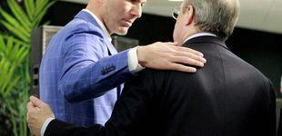 Post de De las costuras de Zidane al descosido de Florentino Pérez en el mercado