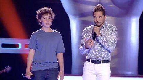Espectacular dúo de David Bisbal con uno de los aspirantes en 'La Voz Kids 3'
