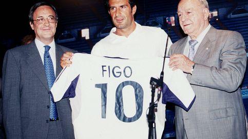 El 'no' de Figo a Florentino, un mensaje para Casillas y una indirecta a Arbeloa