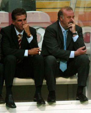 Del Bosque y Queiroz ponen el morbo al partido