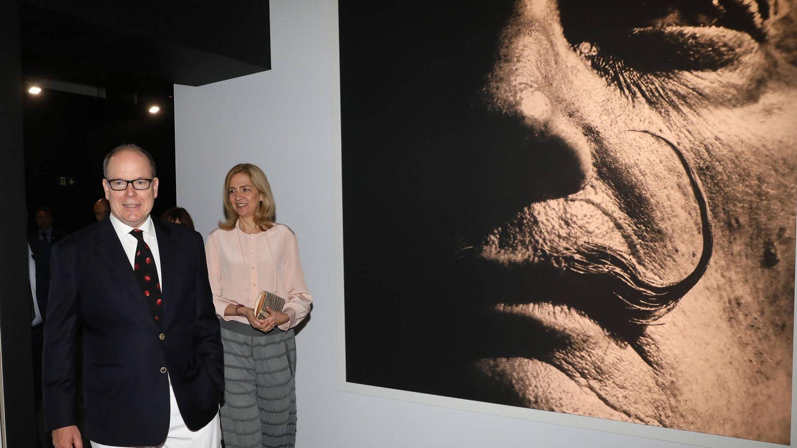 Foto: Alberto de Mónaco y la infanta Cristina. (Vanitatis)