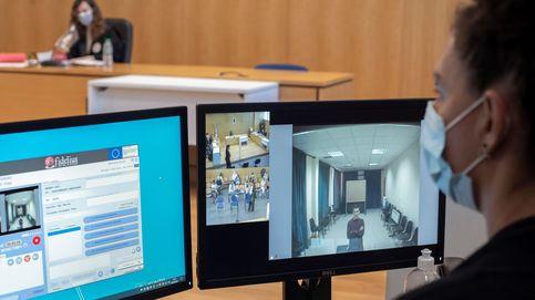 Juicios aplazados y policías 'congelados': caos de videoconferencias en la Justicia española