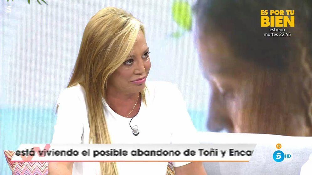 Foto: Belén Esteban, en 'Viva la vida'. (Telecinco)