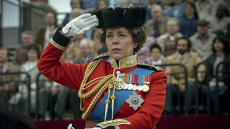 Olivia Colman, como Isabel II. (Netflix)