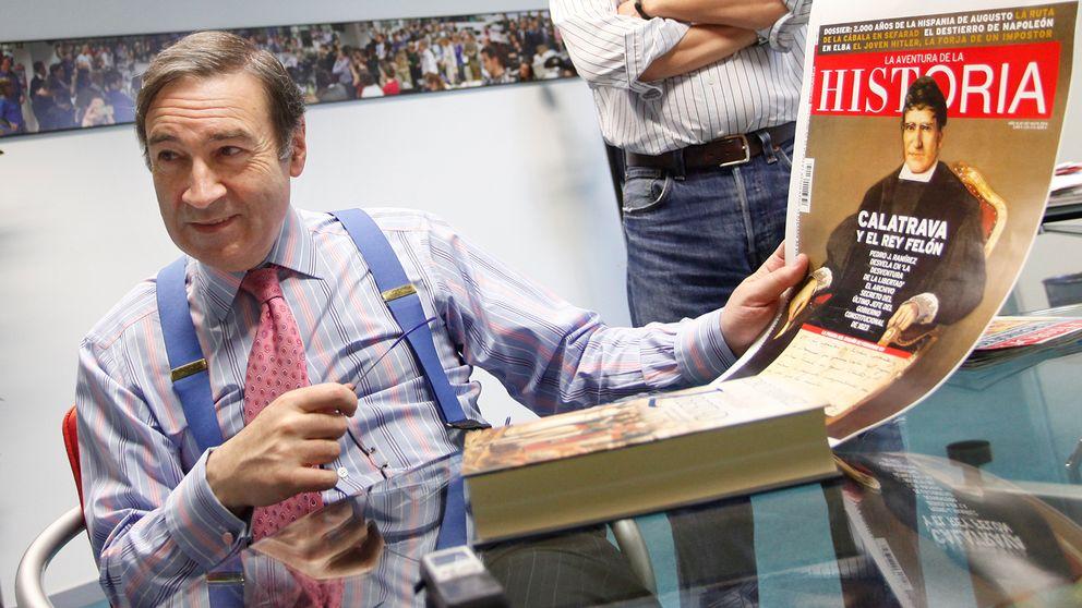 Pedro J. denuncia el control de Botín sobre los principales diarios