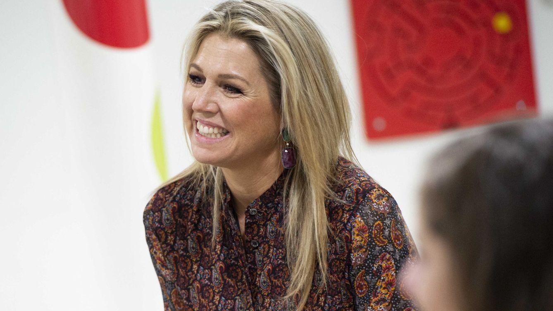 Máxima de Holanda nos enseña otro rincón de su palacio