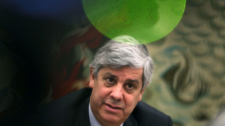 Mário Centeno, presidente del Eurogrupo. (Reuters)