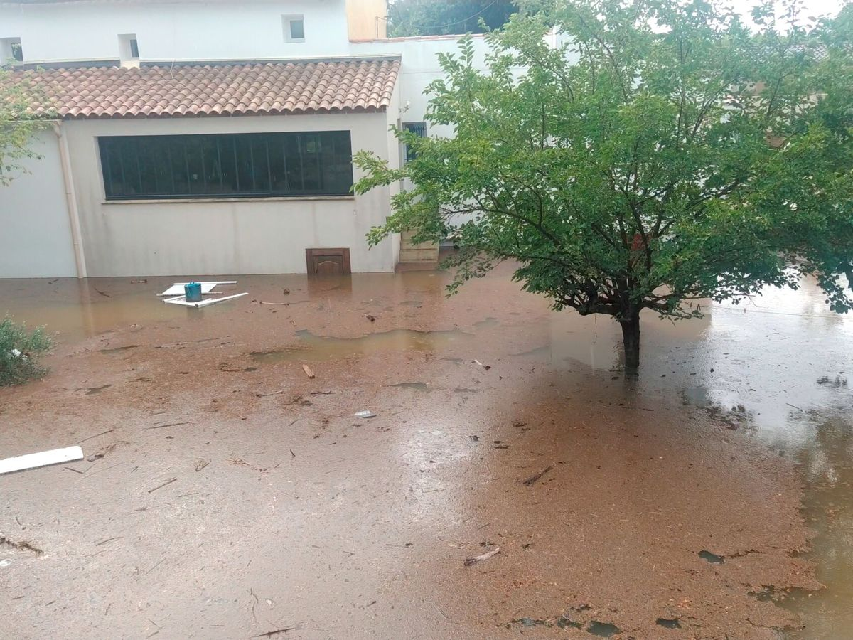 Foto: Inundaciones en Gard. (Reuters)